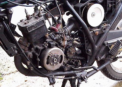 Kawasaki Ar125 Rebuild